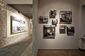 "View of the exhibition ""Reconstruction Disputes"", 7th edition of Warsaw Under Construction festival. Photo by Bartosz Stawiarski"